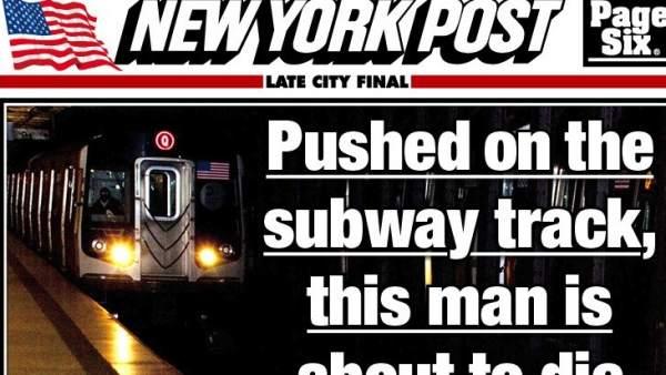 Portada del NY Post