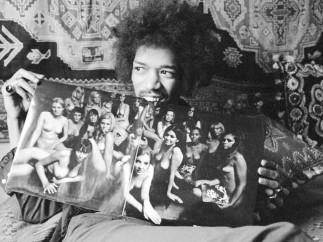 Hendrix y su disco