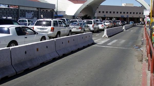 Frontera México y Estados Unidos