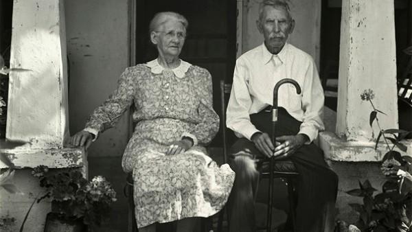 Mr. and Mrs. W. P. Fry, Burnet, Texas, 1941
