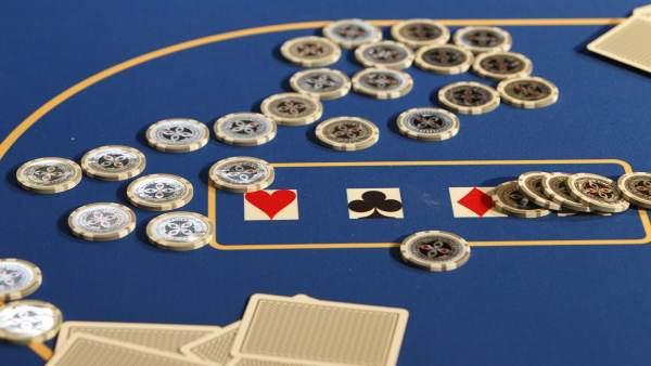 Juego en un casino