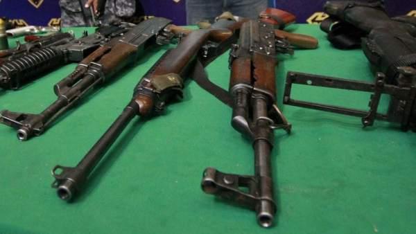 Armas prohibidas