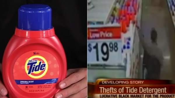Detergente robado en EE UU