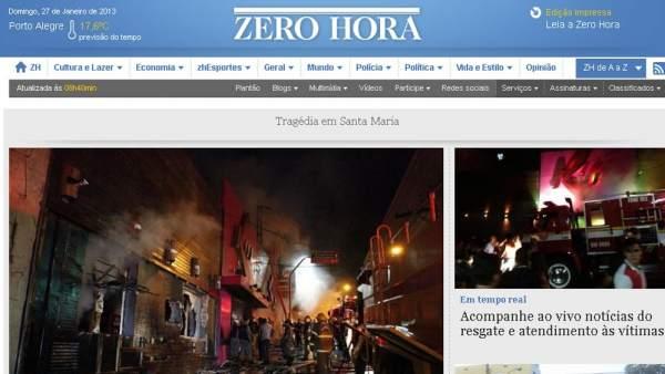 Incendio en una discoteca de Brasil