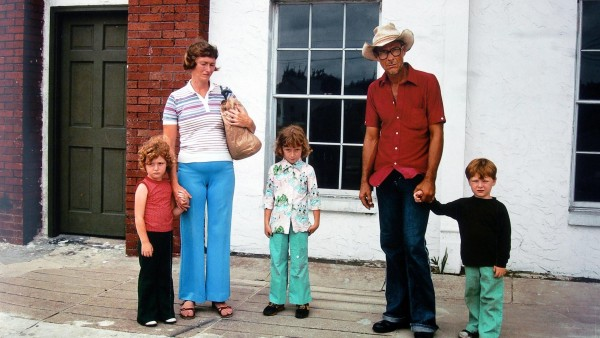 Ybor City, Florida (Mother with Brown Paper Bag), 1983
