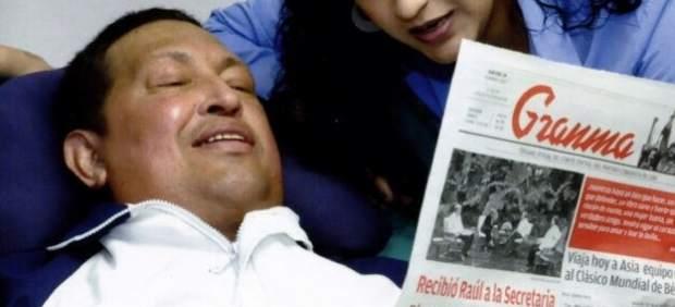 Únicas imagenes de Chávez