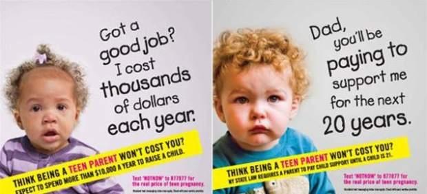 Campaña de embarazos no deseados