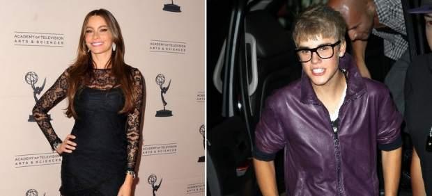 Sofía Vergara y Justin Bieber