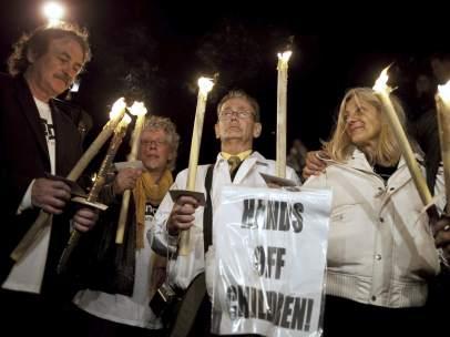 Víctimas de sacerdotes pedófilos