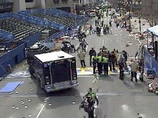 Explosión en la maratón de Boston