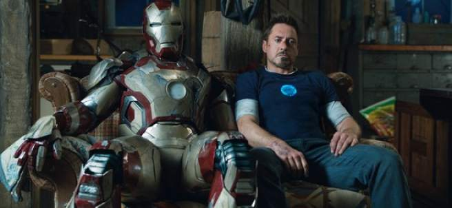 Robert Downey Jr. en ´Iron Man 3´