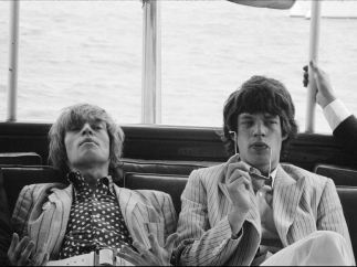´Brian Jones and Mick Jagger, New York´