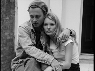 ´Johnny Depp and Kate Moss, London´