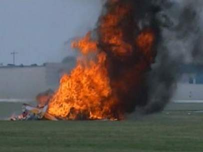 Accidente de avioneta en Dayton
