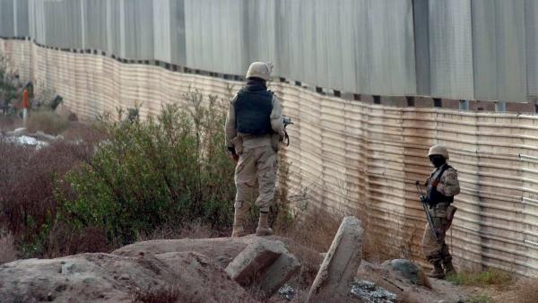 Partrullaje en la frontera