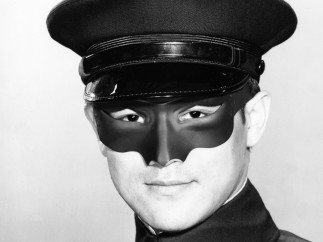Styling of Kato in the American TV series The Green Hornet,  1966