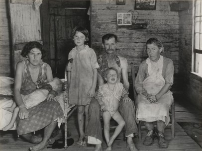 Sharecropper´s Family, Hale County, Alabama March 1936