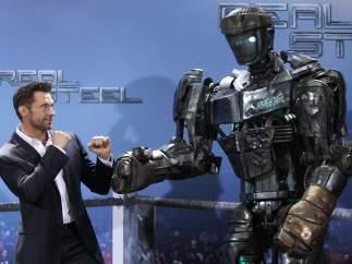 Jackman presenta Real Steel