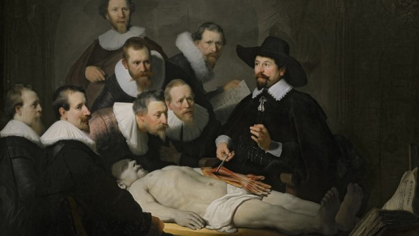 ´The Anatomy Lesson of Dr Nicolaes Tulp´, 1632