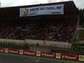 Greenpeace protesta en Bélgica