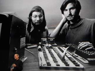 Los fundadores de Apple