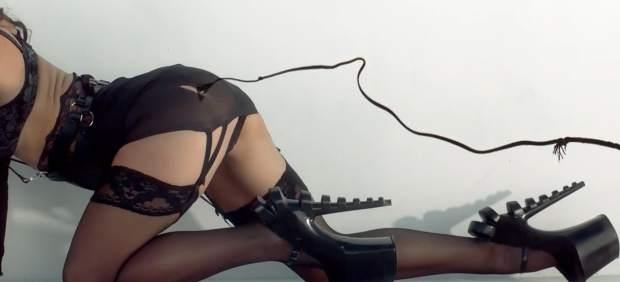 Una imagen del videoclip ´Work Bitch´ de Britney Spears