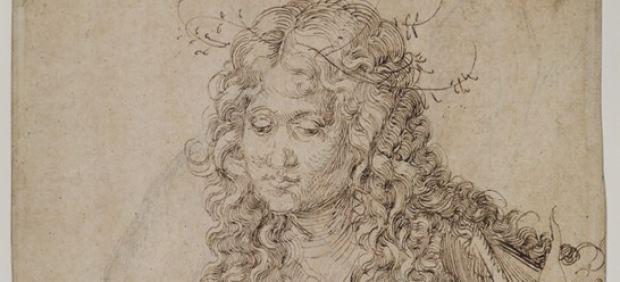 ´A Wise Virgin (recto)´, 1493