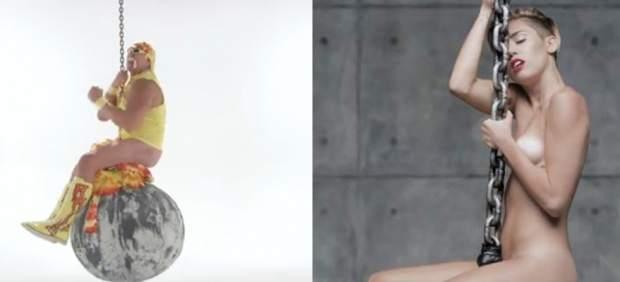 Hulk Hogan imita a Miley Cyrus