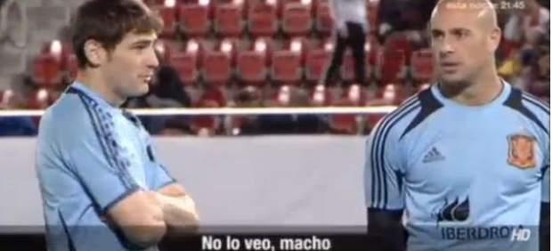 Iker Casillas y Pepe Reina