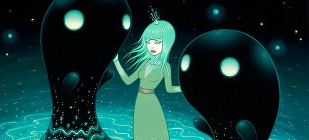 The Water Nebula