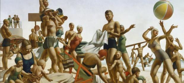 Australian Beach Pattern, 1940