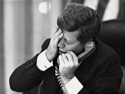 ´La llamada telefónica y el asesinato de Lumumba´, La Casa Blanca, 1961