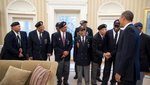 Homenaje a los veteranos de Guerra