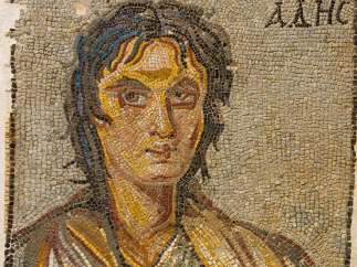 ´Portrait of Alcibiades´, late 3rd - early 4th century
