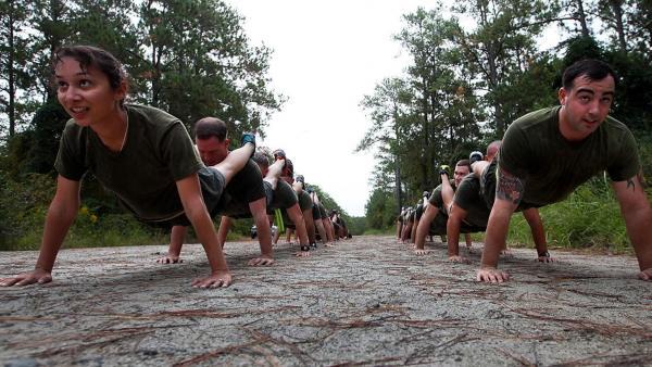 Entrenamiento de Marines