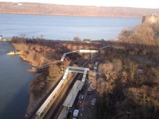 Accidente de tren en Nueva York