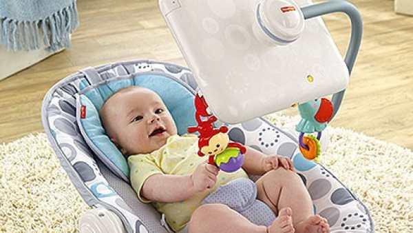 Silla para bebé con iPad
