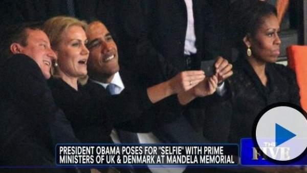 Selfie de Obama