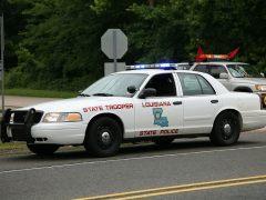 Policía en Louisiana
