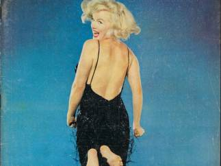 ´Cover of the magazine Life with a portrait of Marilyn Monroe jumping by Philippe Halsman´, November 9, 1959