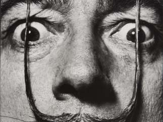 ´Like Two Erect Sentries, My Mustache Defends the Entrance to My Real Self´, Dalí's Mustache, 1954
