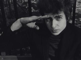 Bob Dylan, Sheridan Square Park, January 22, 1965