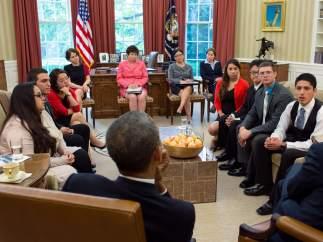 Obama y dreamers