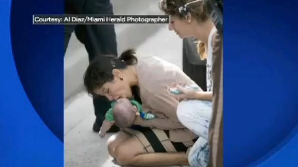Salvando a un bebé en Florida