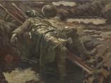 The Dead Stretcher-Bearer, 1919