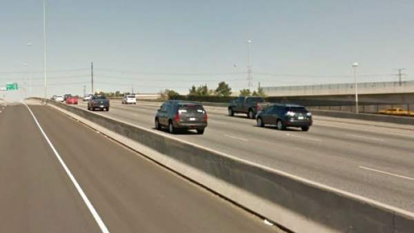Autopista interestatal 25 en Denver, Colorado