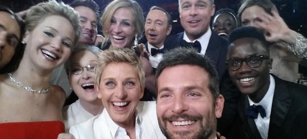 ´Selfie´ en los Oscar