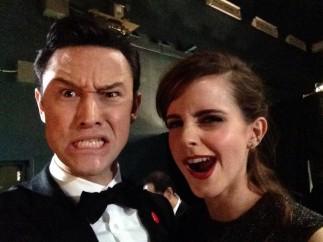 Joseph Gordon-Levitt y Emma Watson