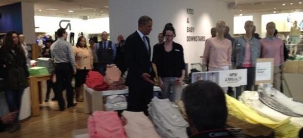 Obama va de compras
