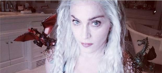 Madonna homenajea a Juego de Tronos